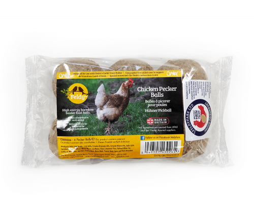 Chicken Pecker Balls